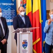 Conferinta de Presa Primăria Timișoara
